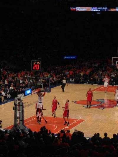 Madison Square Garden, Abschnitt: 103, Reihe: 18, Platz: 13