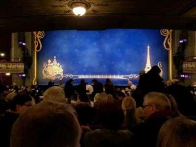Broadhurst Theatre, Abschnitt: Orch, Reihe: N, Platz: 109