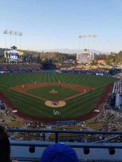 Dodger Stadium, Abschnitt: 1rs, Reihe: c, Platz: 17
