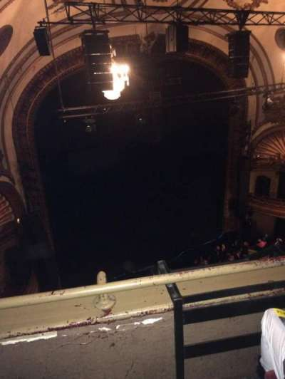 Palace Theatre (Broadway), Abschnitt: Balcony left, Reihe: B, Platz: 17