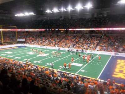 Spokane Arena, Abschnitt: 106, Reihe: K, Platz: 14