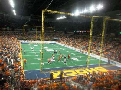 Spokane Arena, Abschnitt: 108, Reihe: T, Platz: 7