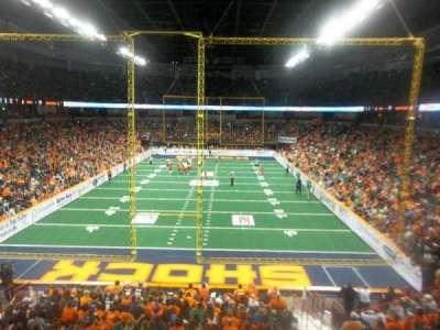 Spokane Arena, Abschnitt: 110, Reihe: R, Platz: 10