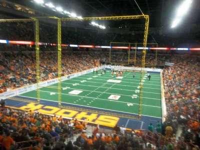Spokane Arena, Abschnitt: 112, Reihe: S, Platz: 7