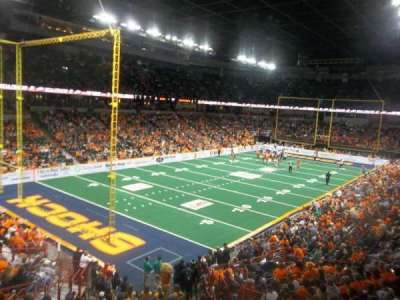 Spokane Arena, Abschnitt: 113, Reihe: P, Platz: 6
