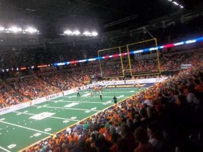 Spokane Arena, Abschnitt: 115, Reihe: N, Platz: 16