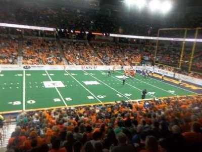 Spokane Arena, Abschnitt: 116, Reihe: P, Platz: 19