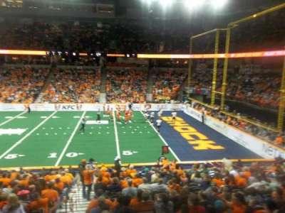 Spokane Arena, Abschnitt: 118, Reihe: S, Platz: 16