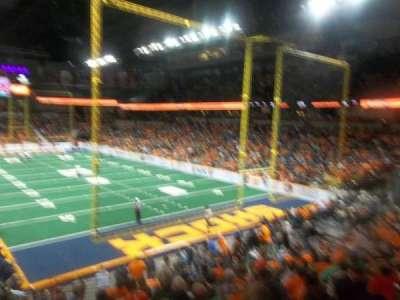 Spokane Arena, Abschnitt: 120, Reihe: T, Platz: 14
