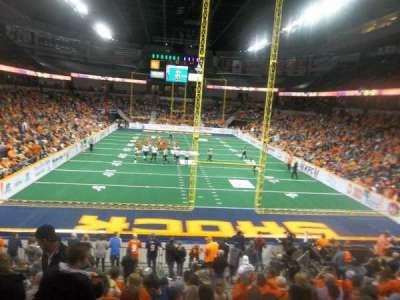 Spokane Arena, Abschnitt: 122, Reihe: S, Platz: 16