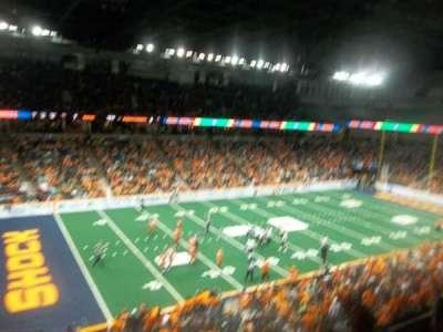 Spokane Arena, Abschnitt: 201, Reihe: M, Platz: 17