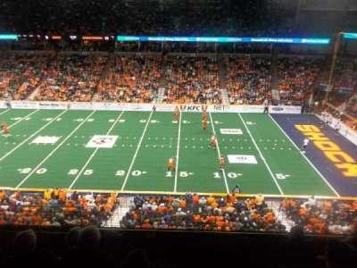 Spokane Arena, Abschnitt: 204, Reihe: K, Platz: 2