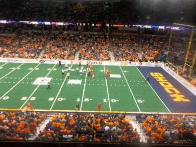 Spokane Arena, Abschnitt: 217, Reihe: M, Platz: 10