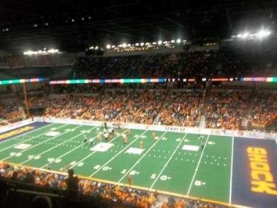 Spokane Arena, Abschnitt: 218, Reihe: L, Platz: 2