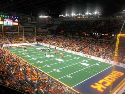 Spokane Arena, Abschnitt: 220, Reihe: L, Platz: 23