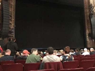 Palace Theatre (Broadway), Abschnitt: Orchestra, Reihe: L, Platz: 199