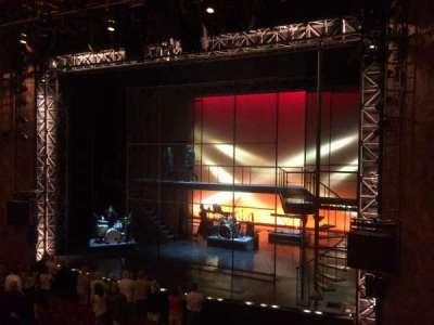 August Wilson Theatre, Abschnitt: Mezzanine Right, Reihe: A, Platz: 10