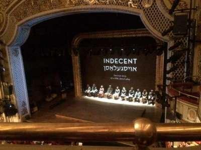 Cort Theatre, Abschnitt: Balcony, Reihe: A, Platz: 10