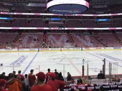 Capital One Arena, Abschnitt: 100, Reihe: M, Platz: 3
