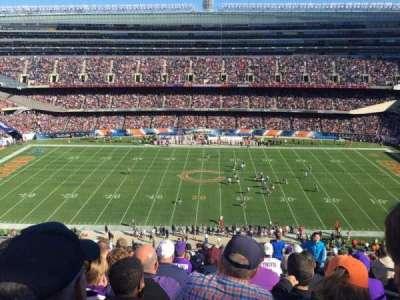 Soldier Field, Abschnitt: 437, Reihe: 14, Platz: 19