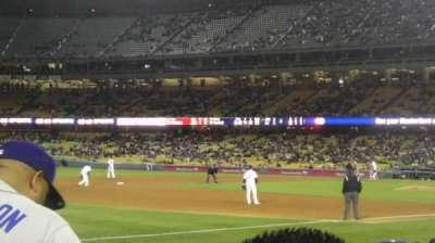 Dodger Stadium, Abschnitt: 37FD, Reihe: F , Platz: 2