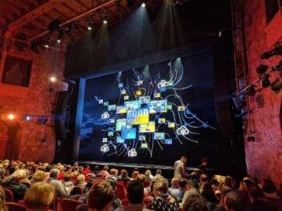 August Wilson Theatre, Abschnitt: ORCHR, Reihe: M, Platz: 14
