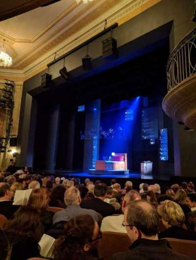 Music Box Theatre, Abschnitt: ORCHO, Reihe: L, Platz: 22