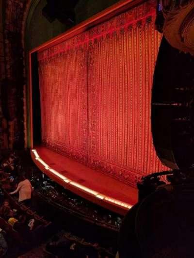 New Amsterdam Theatre, Abschnitt: BOX 4, Reihe: A, Platz: 1