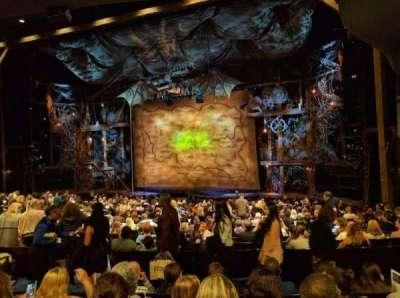 Gershwin Theatre, Abschnitt: ORCHST, Reihe: U, Platz: 16