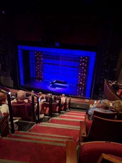Stephen Sondheim Theatre, Abschnitt: Mezzanine, Reihe: HH, Platz: 2