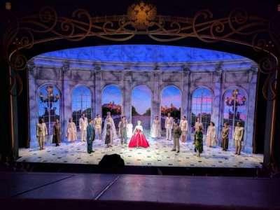 Broadhurst Theatre, Abschnitt: MEZZC, Reihe: A, Platz: 108