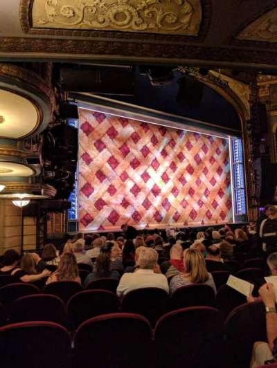 Brooks Atkinson Theatre, Abschnitt: ORCH, Reihe: N, Platz: 23