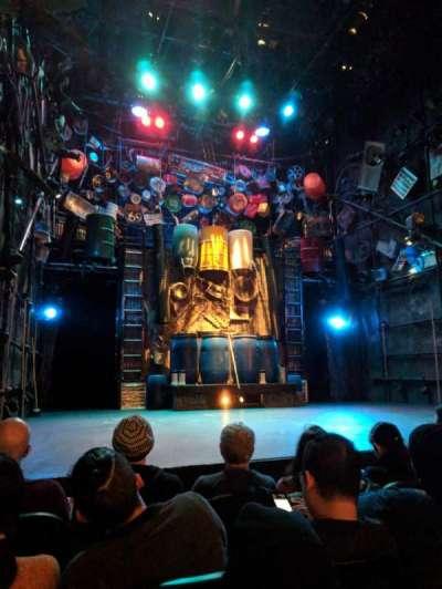 Orpheum Theater (New York), Abschnitt: Orchestra, Reihe: D, Platz: 11