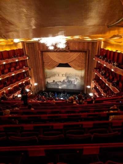 Metropolitan Opera House - Lincoln Center, Abschnitt: Family Circle, Reihe: J, Platz: 212
