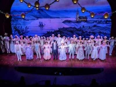 Shubert Theatre, Abschnitt: BALC, Reihe: A, Platz: 106