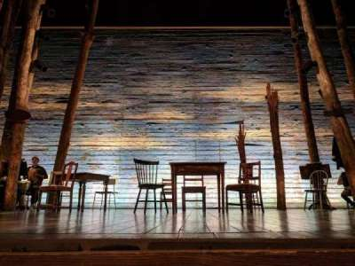 Gerald Schoenfeld Theatre, Abschnitt: ORCHC, Reihe: AA, Platz: 108