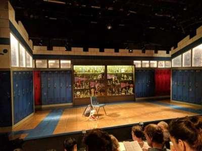 Shiva Theater at The Public Theater, Reihe: D, Platz: 14