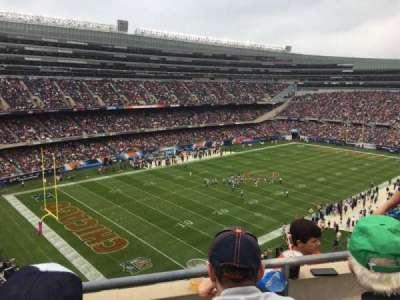 Soldier Field, Abschnitt: 444, Reihe: 2, Platz: 12