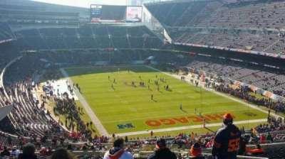 Soldier Field, Abschnitt: 355, Reihe: 24, Platz: 17