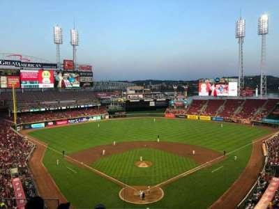 Great American Ball Park, Abschnitt: 422, Reihe: E, Platz: 15