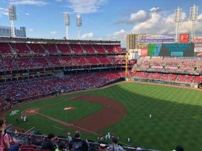 Great American Ball Park, Abschnitt: 534, Reihe: F, Platz: 9