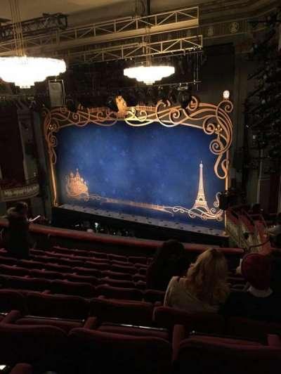 Broadhurst Theatre, Abschnitt: Mezz, Reihe: K, Platz: 26