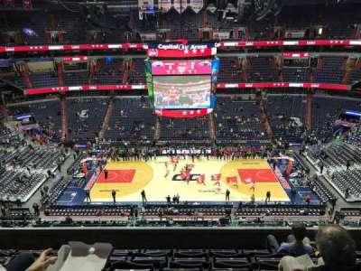 Capital One Arena, Abschnitt: 417, Reihe: F, Platz: 13