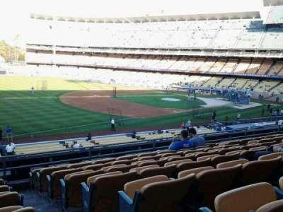 Dodger Stadium, Abschnitt: 151LG, Reihe: H, Platz: 1