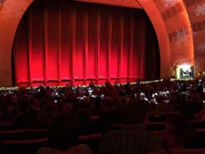 Radio City Music Hall, Abschnitt: Orchestra 6, Reihe: N, Platz: 606
