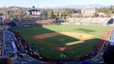 Dodger Stadium, Abschnitt: 1RS, Reihe: E, Platz: 11