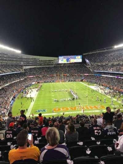 Soldier Field, Abschnitt: 353, Reihe: 12, Platz: 12
