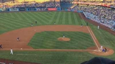 Dodger Stadium, Abschnitt: 11RS, Reihe: E, Platz: 10