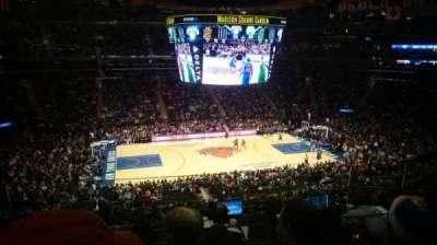 Madison Square Garden, Abschnitt: 223, Reihe: 6, Platz: 8
