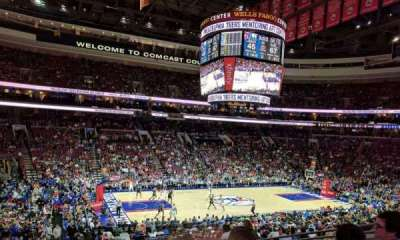 Wells Fargo Center Abschnitt CB23